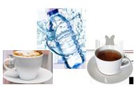 Water, thee en koffie